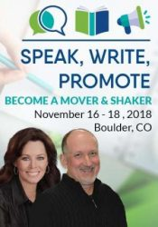 Speak, Write, Promote: Become a Mover and a Shaker