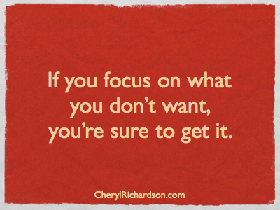 focus-on-what-you-want