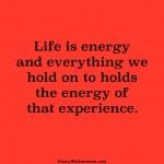 holding energy