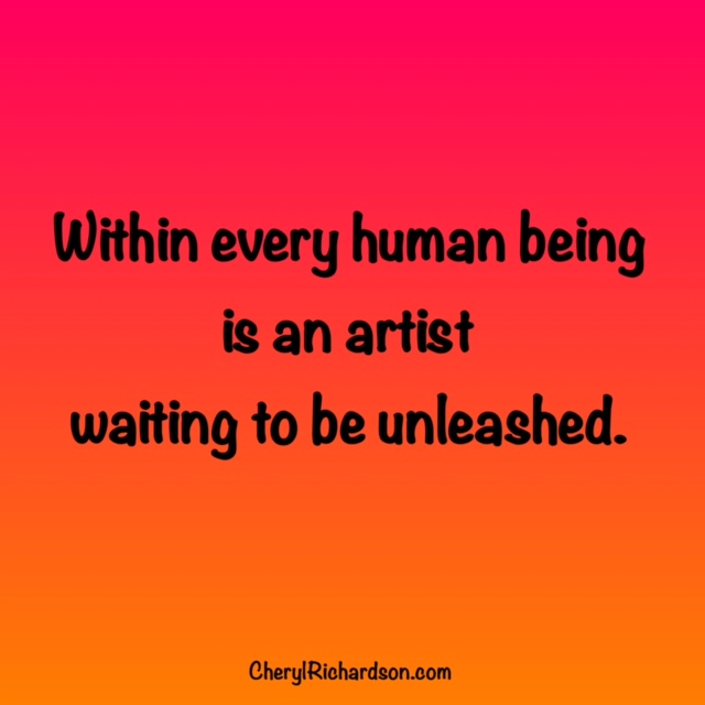 unleash the artist