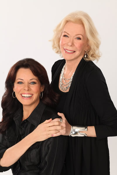 Cheryl with Louise Hay